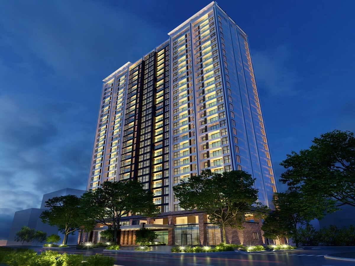Phối cảnh tổng thể dự án The Royal Đà Nẵng Boutique Hotel & Condo