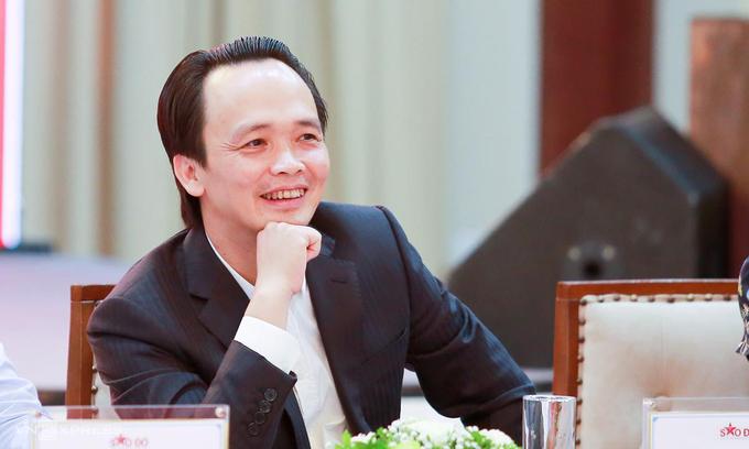 Chân dung ông Trịnh Văn Quyết, chủ tịch Tập đoàn FLC tại tọa đàm về giá nhà..