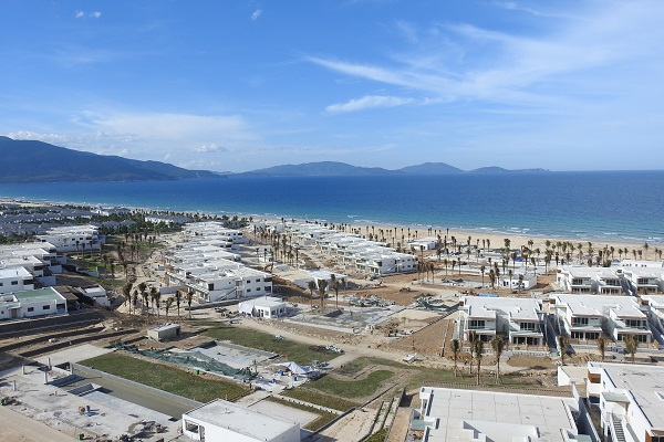 Một dự án ở Bắc bán đảo Cam Ranh là đất ở không hình thành đơn vị ở.