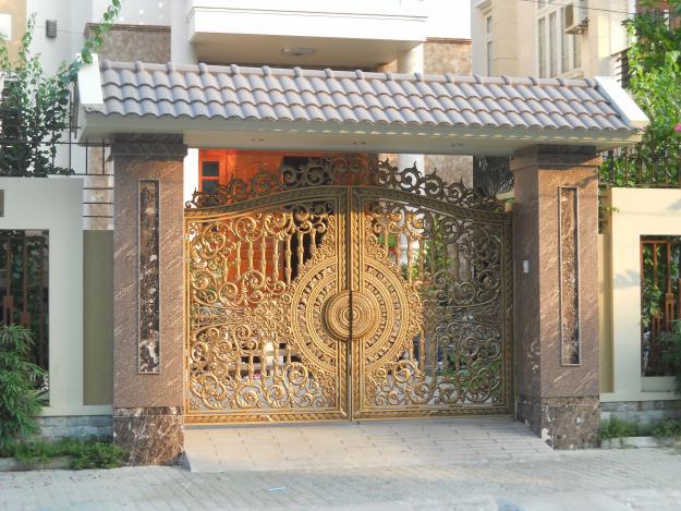 Hướng cổng nhà đẹp hợp phong thủy.
