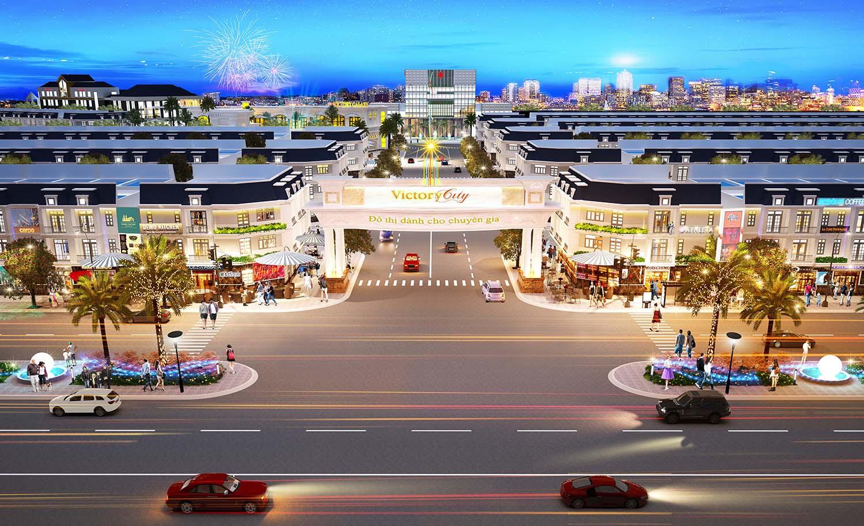 Phối cảnh dự án Victory City tại Bình Dương.