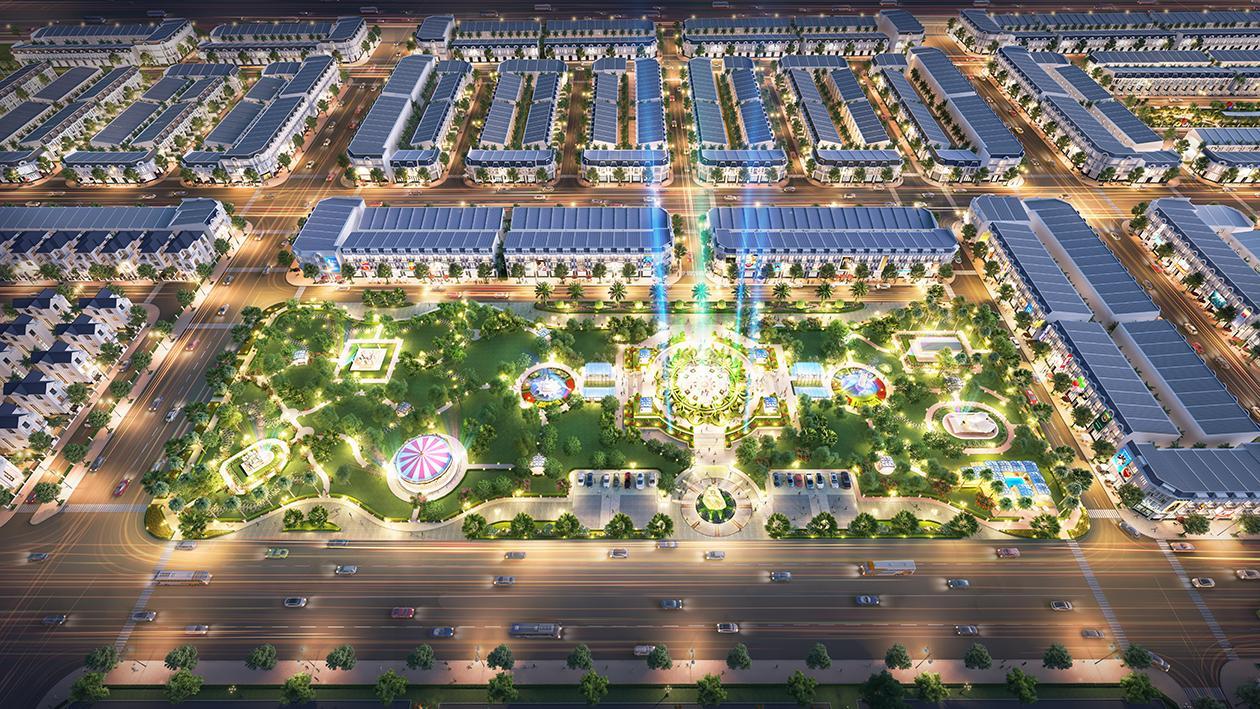 Phối cảnh tổng thể dự án Century City