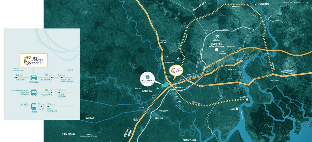 Vị trí dự án The Center Point trên bản đồ