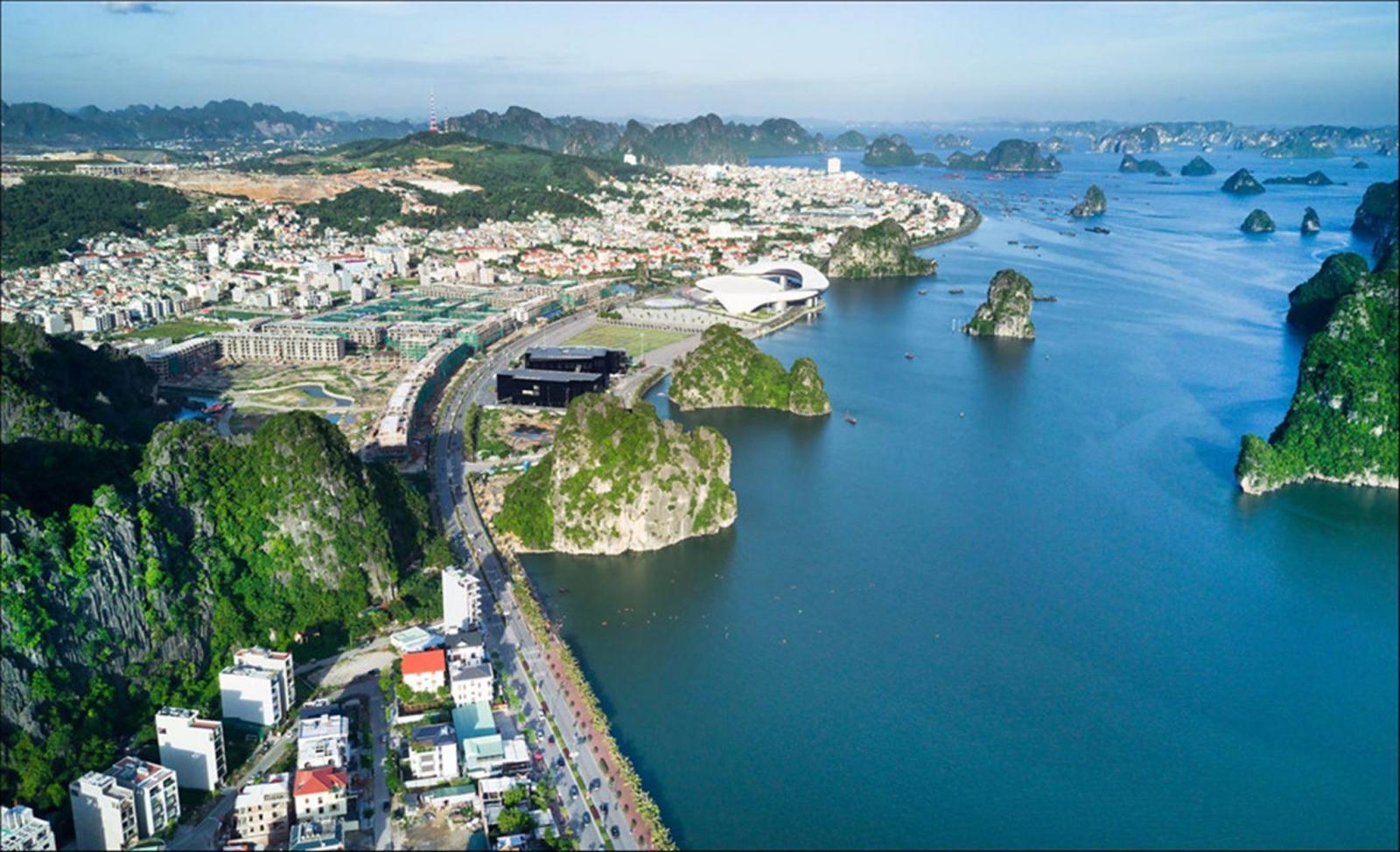 Khu đô thị bên bờ biển ở Quảng Ninh