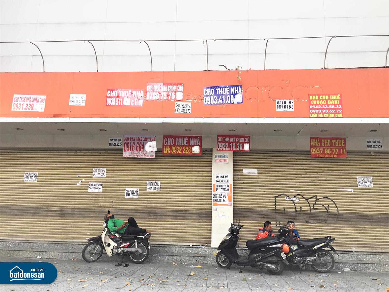 Mặt bằng nhà phố Đường Nguyễn Đình Chiểu, quận 3 đóng cửa chào thuê
