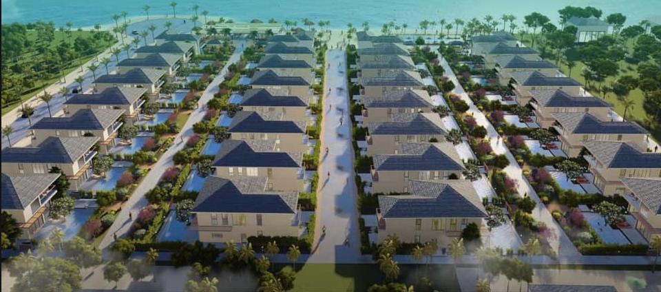 Phối cảnh tổng thể dự án Andochine Resort