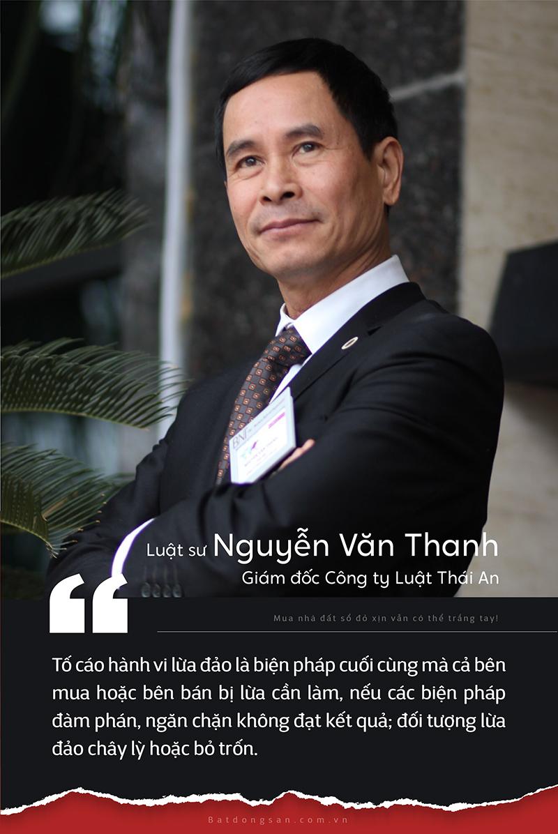 Chân dung luật sư Nguyễn Văn Thanh