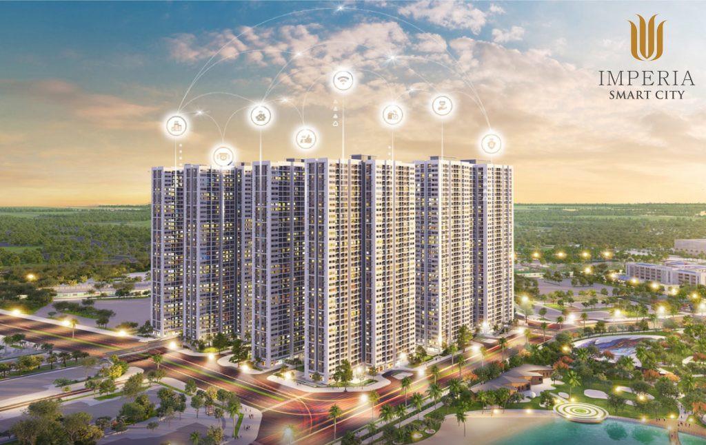 Phối cảnh tổng thể dự án Imperia Smart City