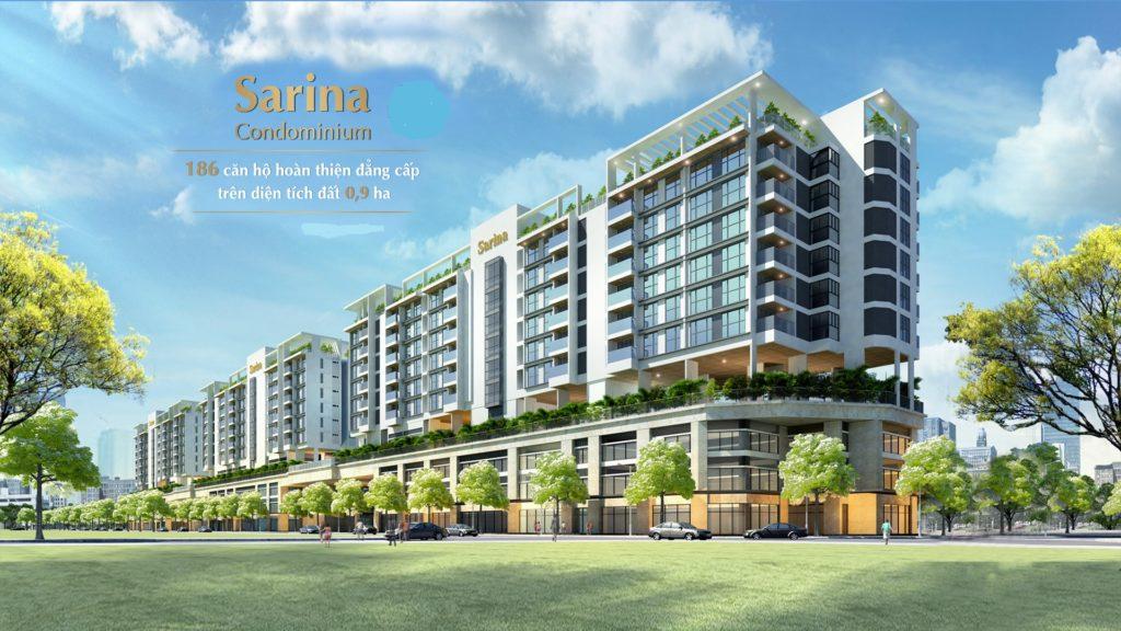 Phối cảnh tổng thể dự án Sarina Condominium