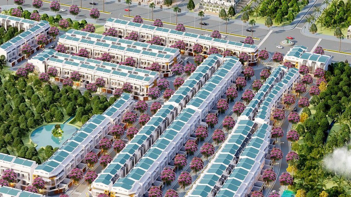 Phối cảnh tổng thể dự án Khu nhà ở Thái Bình Dương - Tân Hiệp