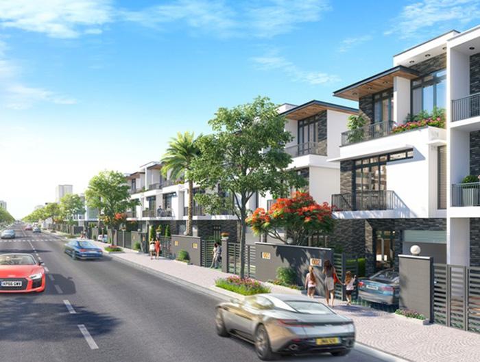 Phối cảnh dự án Golden Dream City