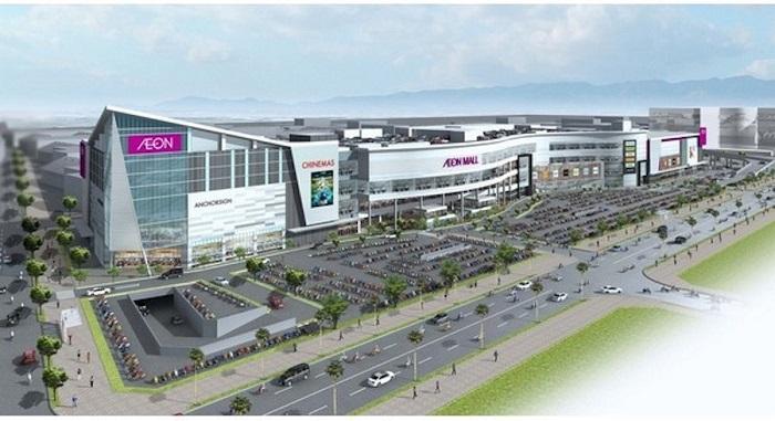 Phối cảnh đại siêu thị Aeon Mall Hà Đông.