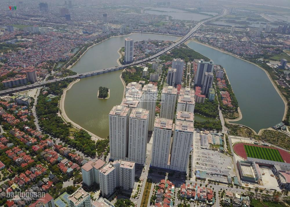 Cho thuê chung cư Linh Đàm, rất nhiều loại diện tích giá từ 5 đến 7 triệu 1 căn hộ, LH 0945033665