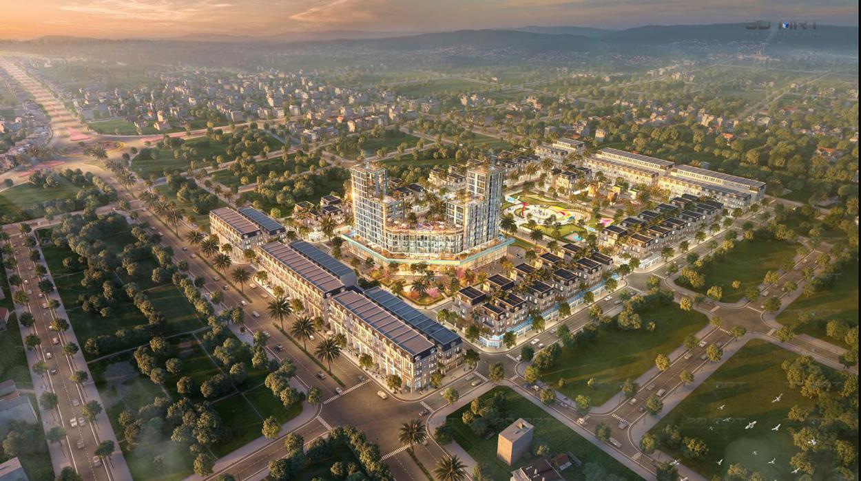 Phối cảnh tổng thể dự án TNR Grand Palace