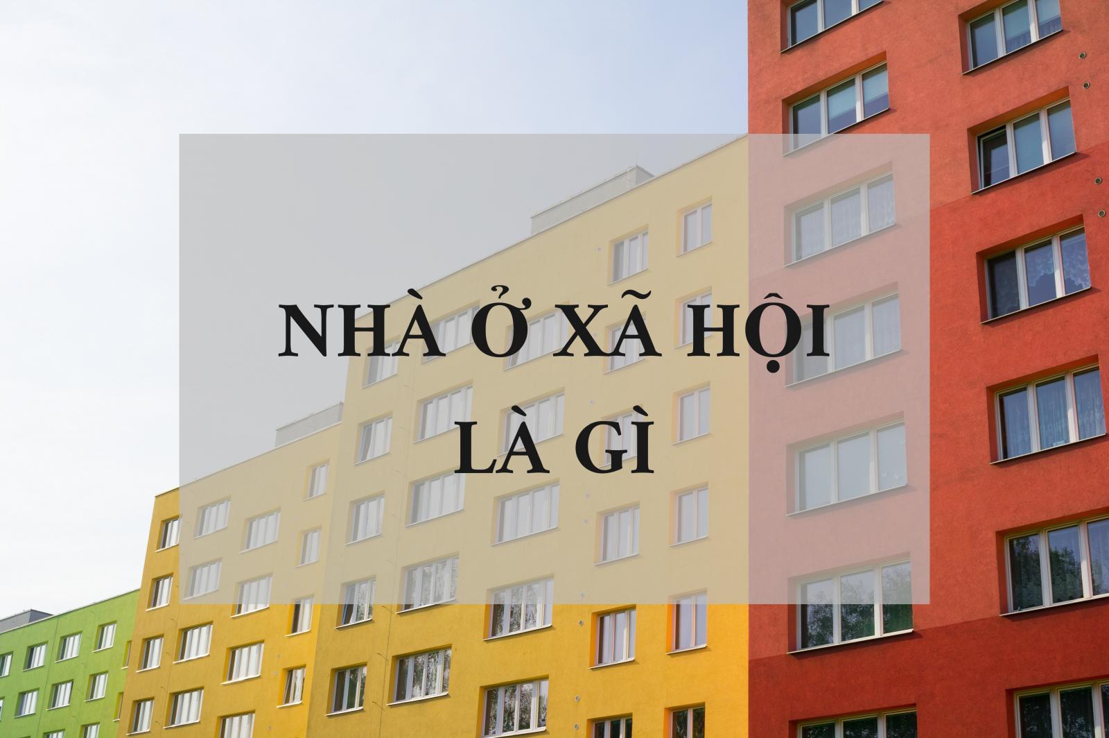 hình ảnh 3 tòa chung cư trong khu nhà ở xã hội