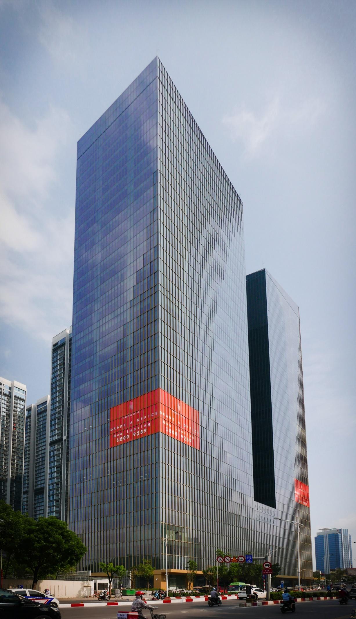 Hình ảnh tòa Capital Place đã hoàn thiện