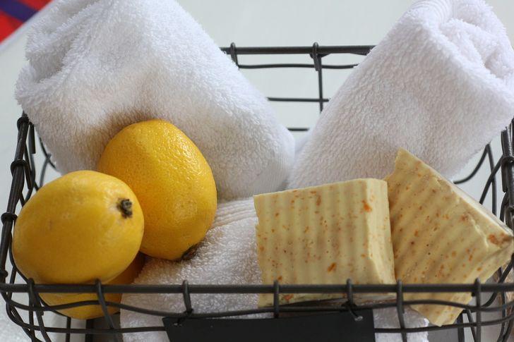 Chanh khử mùi khó chịu trong nhà