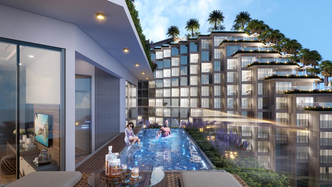 Căn hộ khách sạn Apec Mandala Wyndham Mũi Né