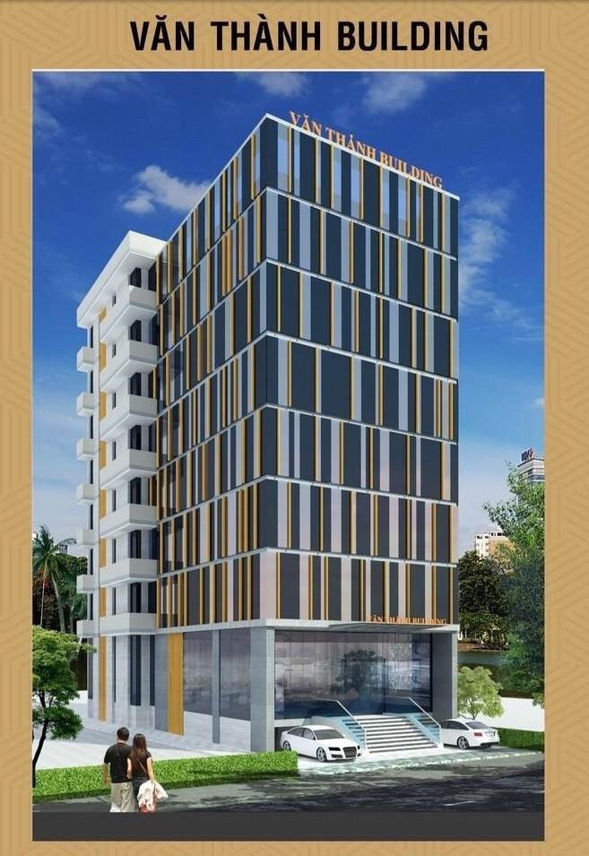 Phối cảnh tổng thể dự án IOS Văn Thành Building