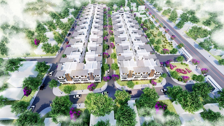 Phối cảnh tổng thể dự án Khu đô thị Lotus City