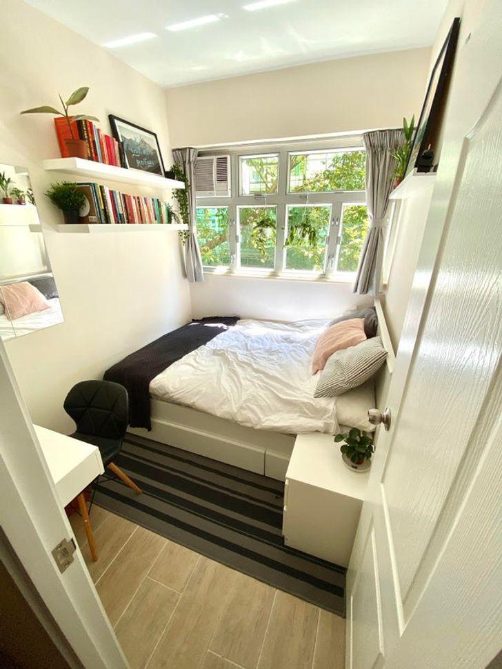 Phòng nhỏ vẫn thoải mái nhờ thiết kế hợp lý