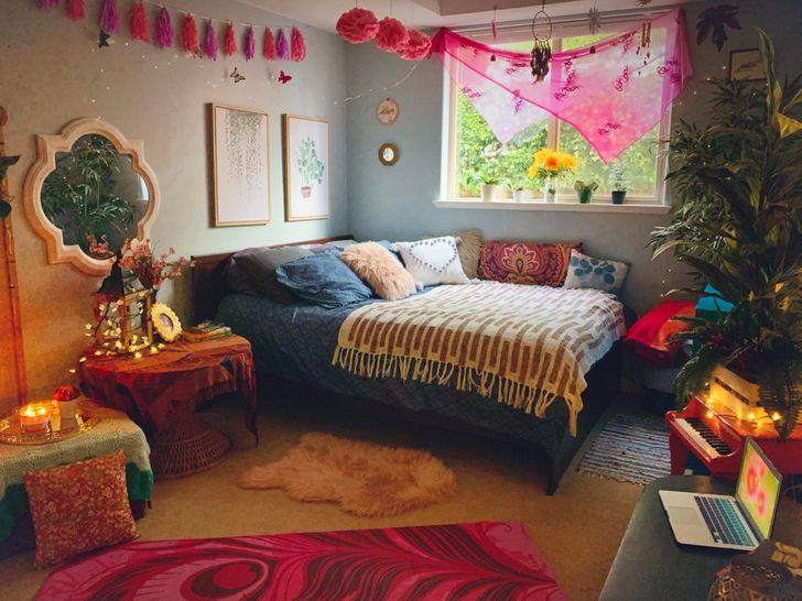 Phòng ngủ phong cách nữ tính