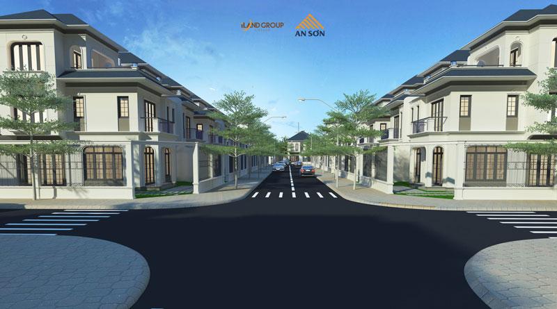 Phối cảnh dự án An Sơn Residence