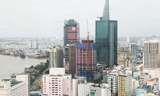 Hình ảnh những tòa nhà cao tầng ở 1 thành phố