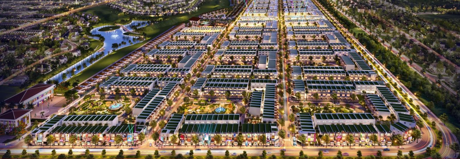Phối cảnh dự án Thuận An Central Point