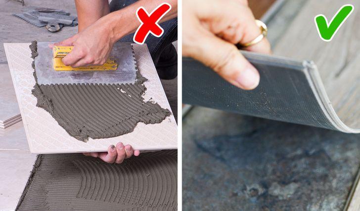 Cải tạo sàn nhà tiết kiệm chi phí với sàn nhựa