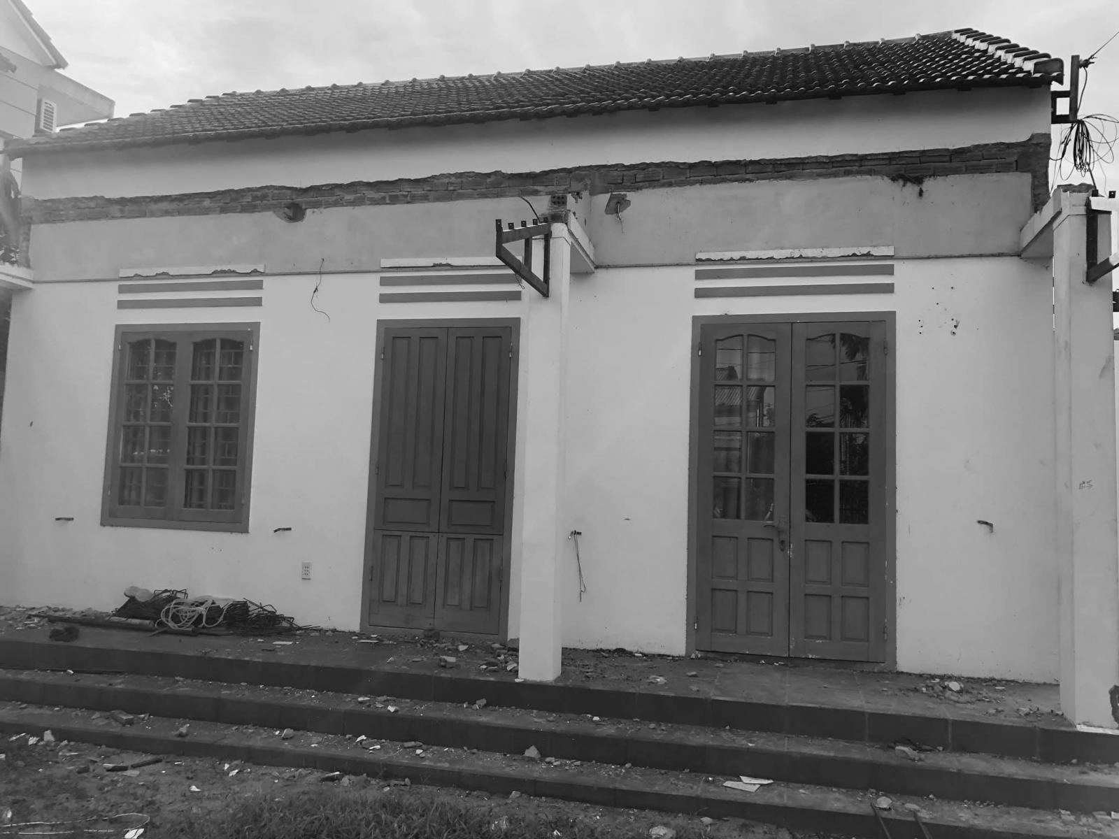 Hiện trạng ngôi nhà cấp 4 trước cải tạo