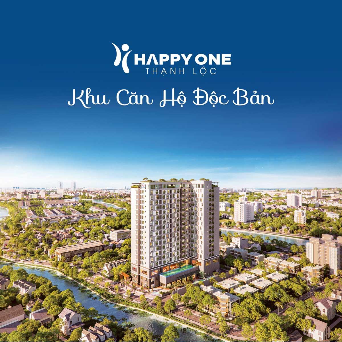 Phối cảnh dự án Happy One Thạnh Lộc