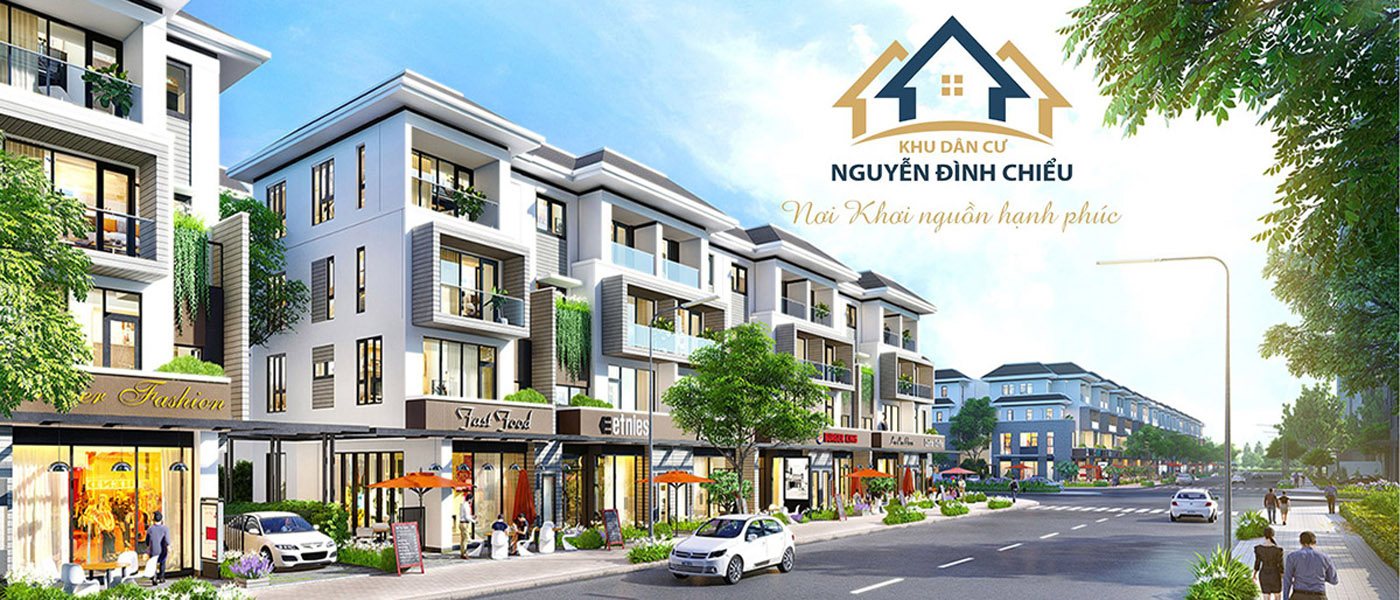 Phối cảnh dự án Khu dân cư Nguyễn Đình Chiểu