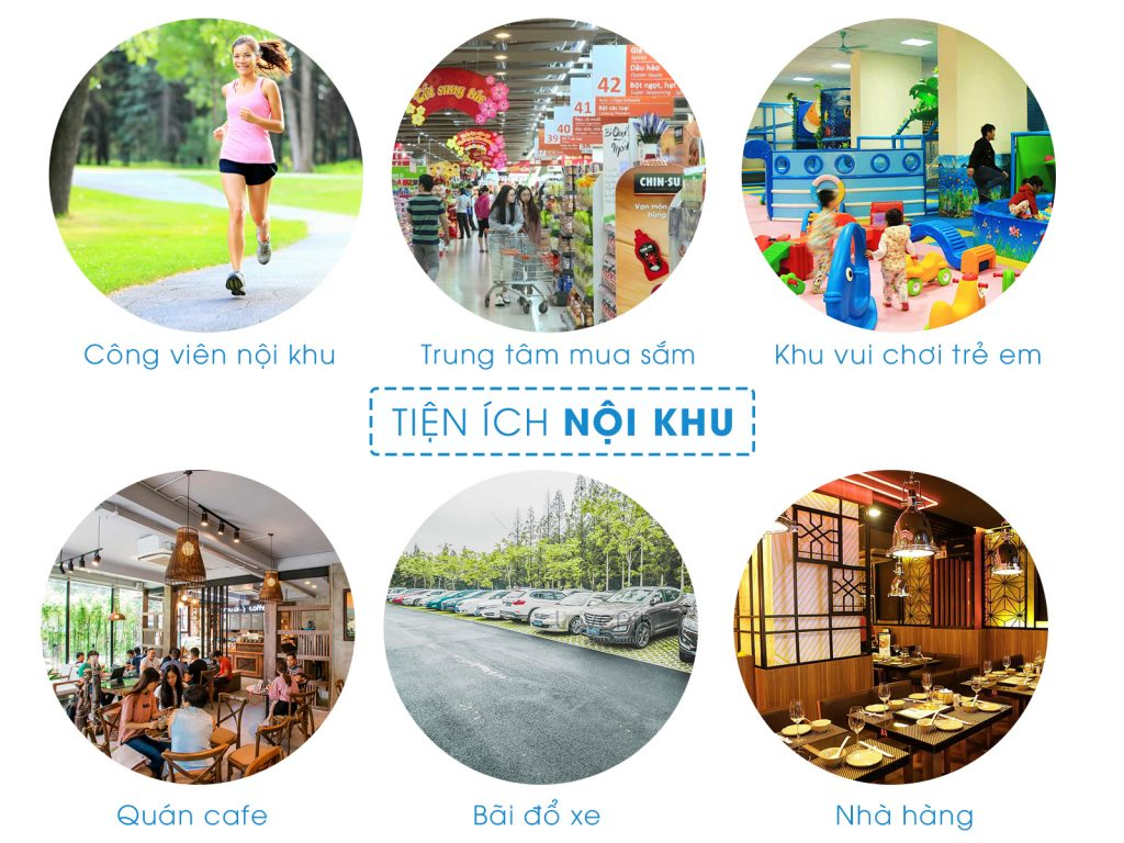 Tiện ích nội khu tại Khu đô thị An Phú