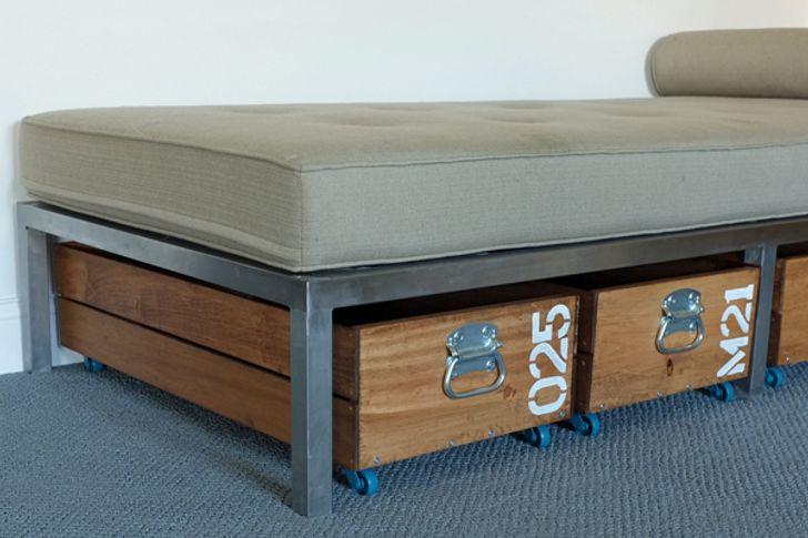 Thùng chứa đồ vừa vặn với gầm giường