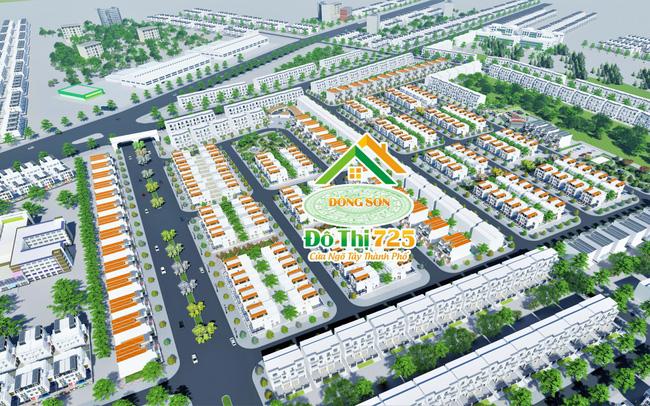Phối cảnh dự án Khu đô thị 725 Đông Sơn