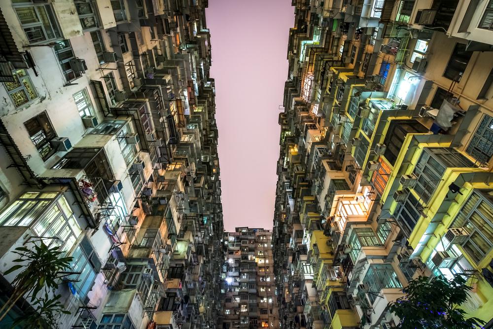 Mật độ xây dựng cao trong đô thị