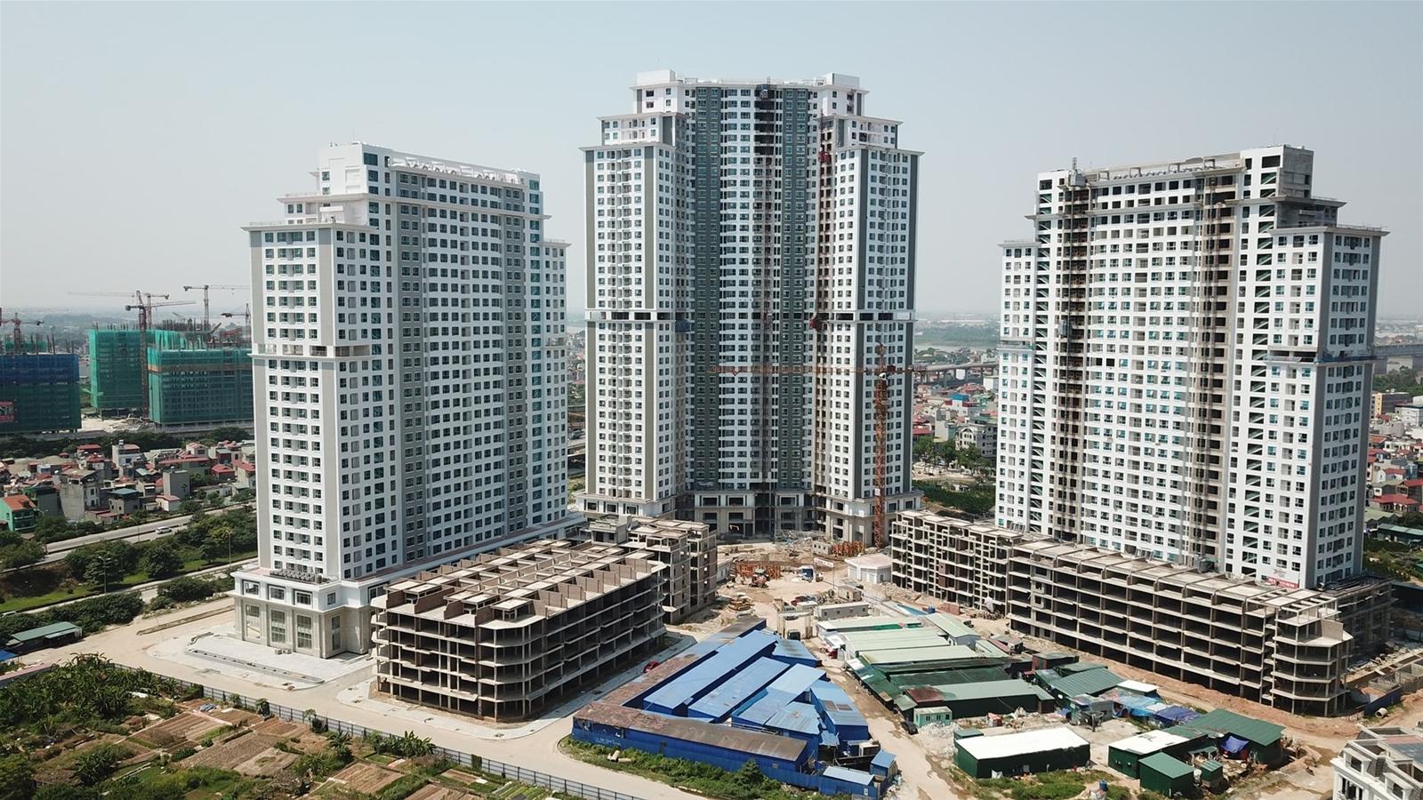 3 tòa chung cư cao tầng