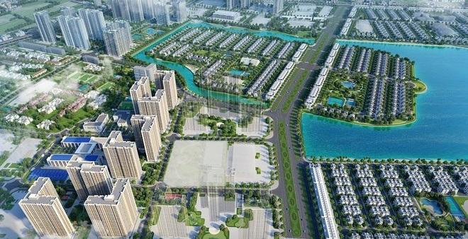 Phối cảnh một đại đô thị ở Hà Nội