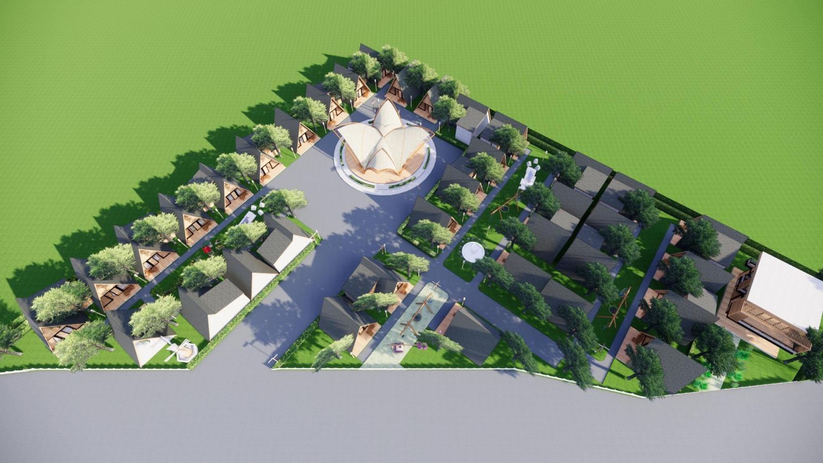 Phối cảnh dự án Long Mỹ Ocean Garden View
