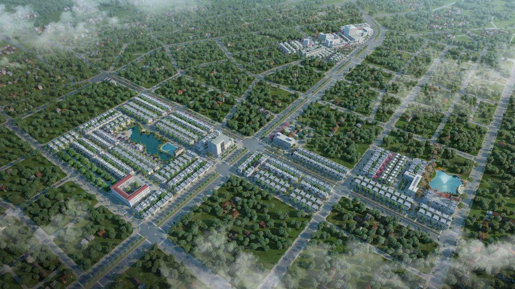 Phối cảnh tổng thể dự án TNR Stars Thái Hòa