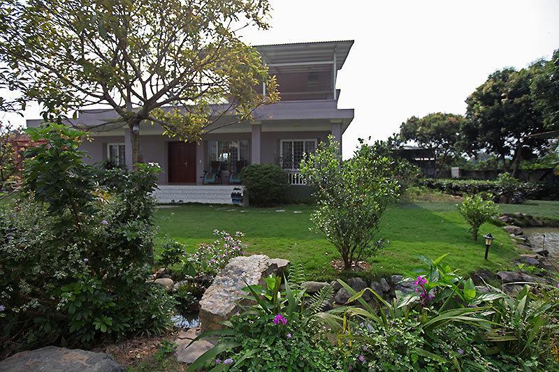 Ngôi nhà chính là nơi ở của vợ chồng gia chủ