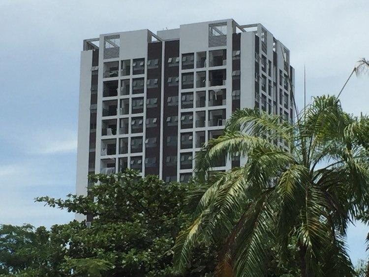 Hình ảnh một tòa nhà cao tầng