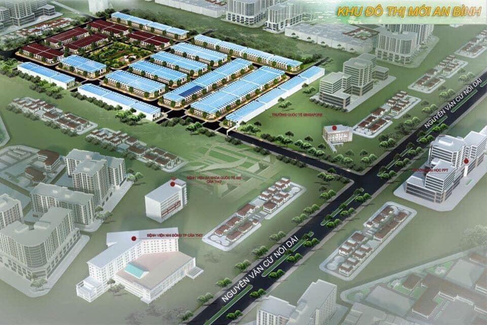 Phối cảnh dự án Khu đô thị mới An Bình
