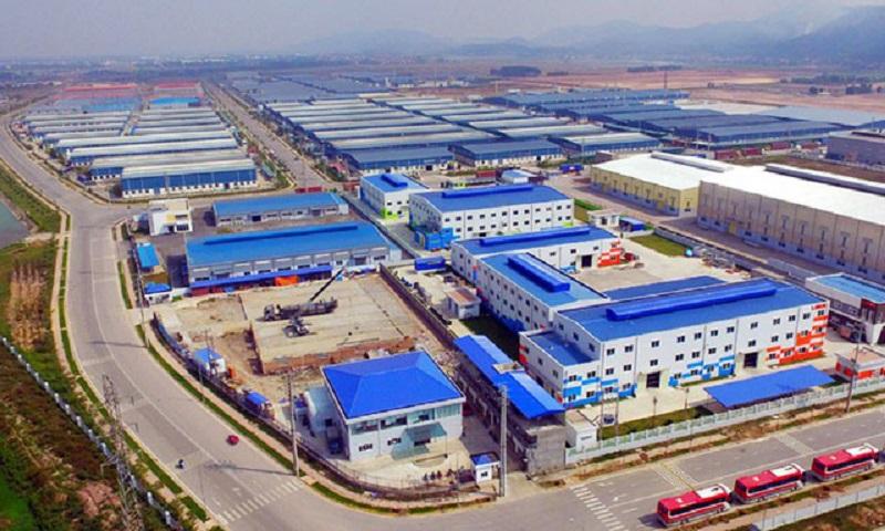 An industrial park in Vietnam