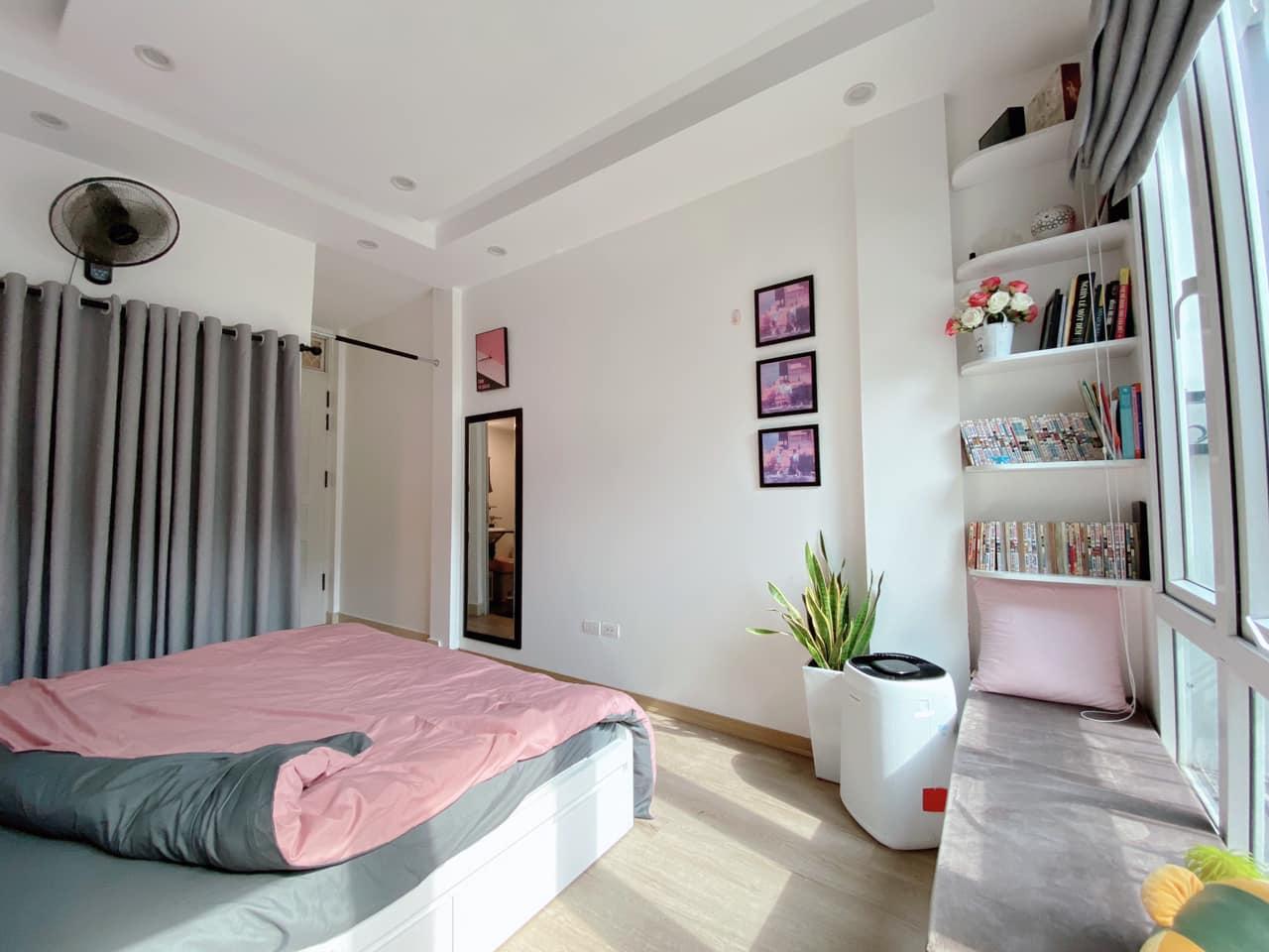 Một góc phòng ngủ đẹp, nữ tính
