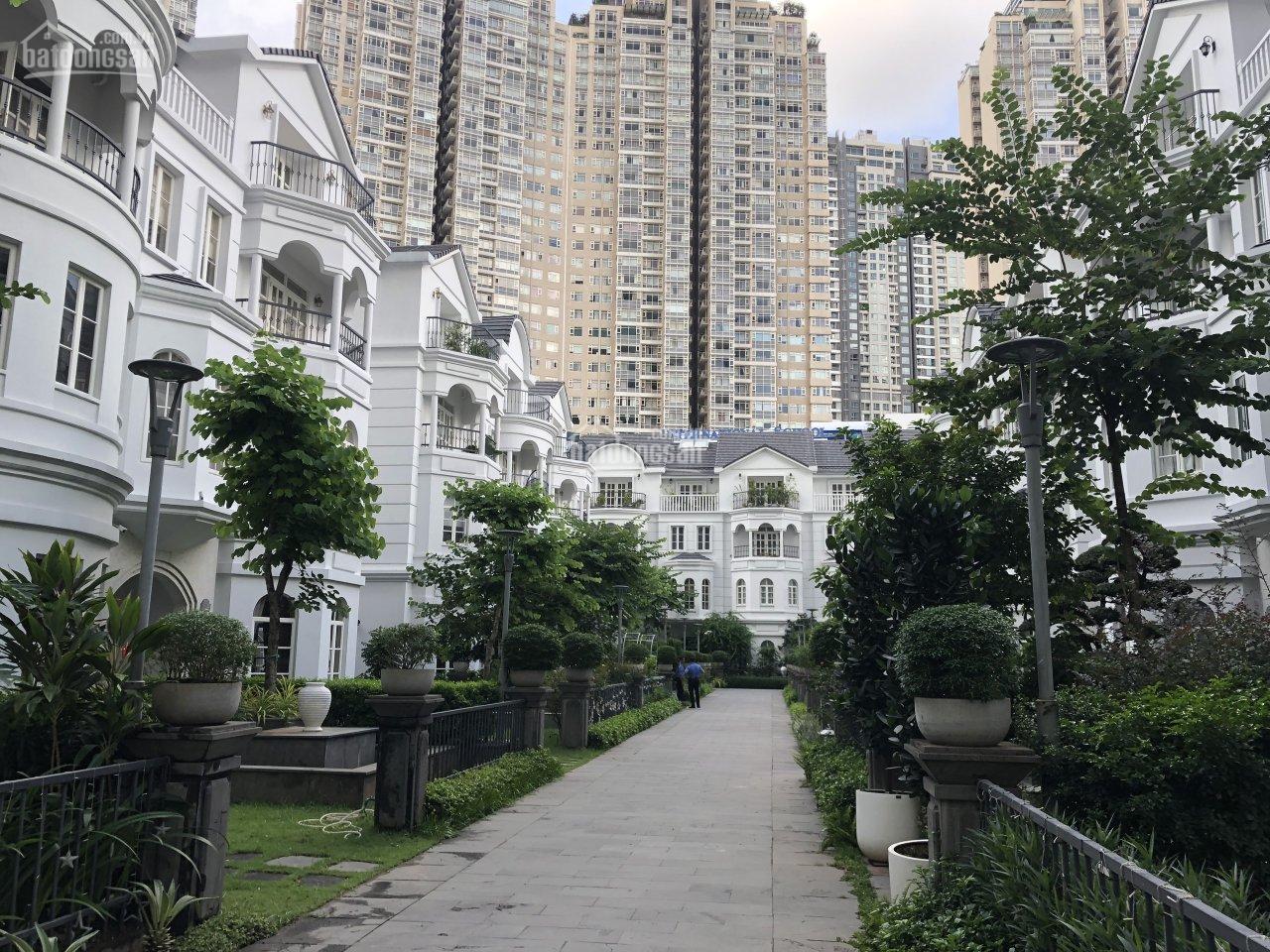 Biệt thự sân vườn Saigon Pearl, nhà đang trống dễ decor theo sở thích, Quận Bình Thạnh, giá 78 tỷ
