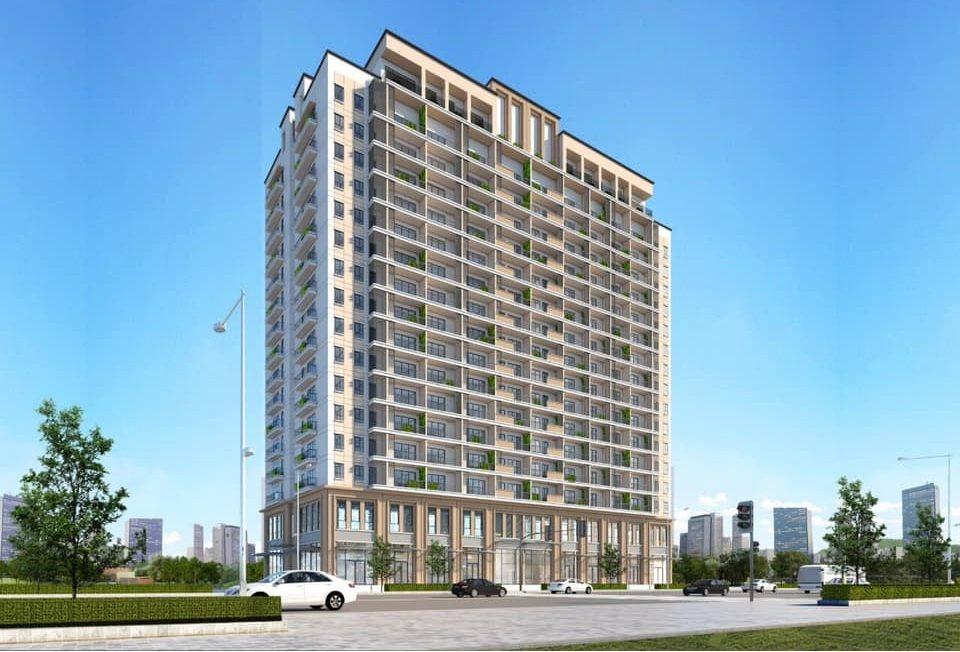 Phối cảnh tổng thể dự án Star Tower Thuận An