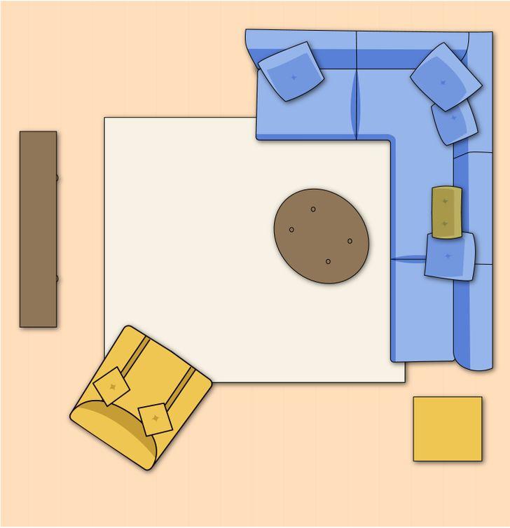 Sắp xếp nội thất phòng khách theo bố cục mở