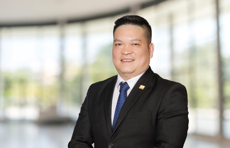 Chân dung ông Nguyễn Đức Thêm, Quản lý Kinh doanh, Bộ phận Kinh doanh Quốc tế, Savills Hà Nội